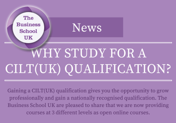 Why Study for a CILT(UK) Qualification?