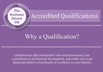 Why a Qualification