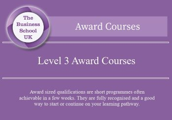 Featured Image level 3 award courses